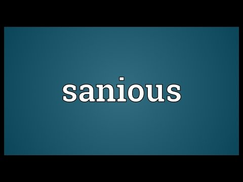 Header of sanious