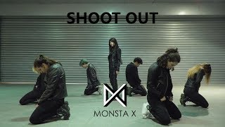 """BORN EATER ft. RAGAMUFFIN - MONSTA X (몬스타엑스) """"SHOOT OUT"""" Dance Cover"""