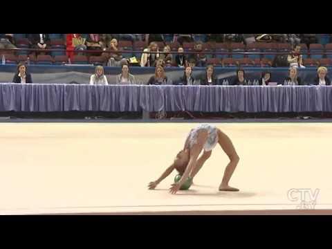 Турнир по художественной гимнастике на призы олимпийской чемпионки Марины Лобач стартовал в Минске
