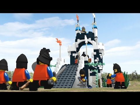 LEGO BATTLE - Royal Knights vs Dragon Knights - TEST