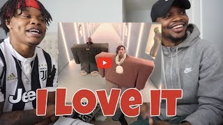 Kanye West Lil Pump Ft Adele Givens 34 I Love It 34 Official Music Audio Reaction