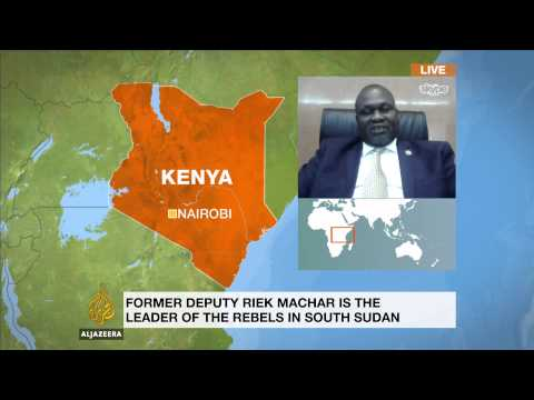 South Sudan's Riek Machar wants 'power-sharing' deal