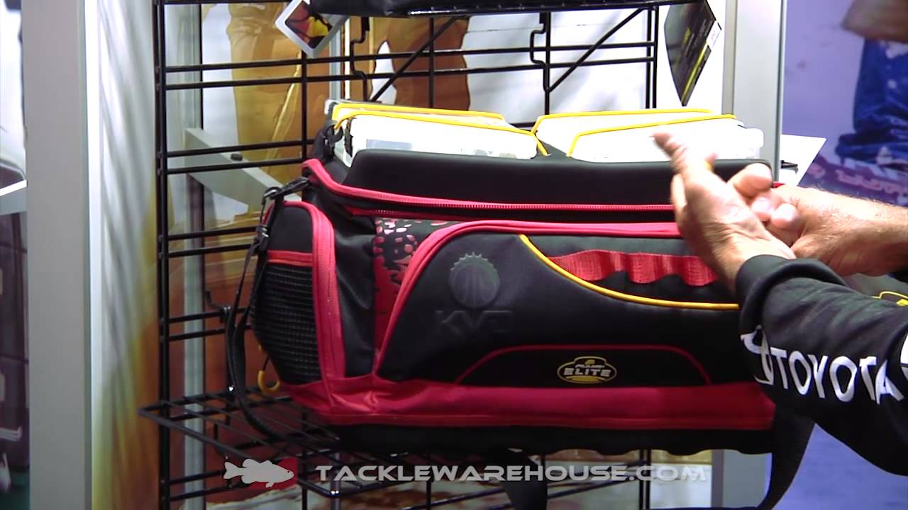 Plano KVD Signature Series Tackle Bag  amp  Speedbag Worm Files with Kevin VanDam   ICAST 2014