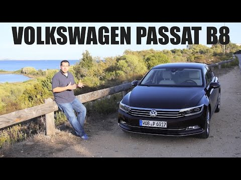 (ENG) Volkswagen Passat B8 - First Test Drive and Review