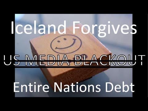 Iceland Forgives Entire Nations Debt