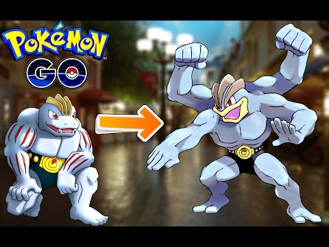 Pokemon Go / Покемон Го ► Эволюция Machoke ◓ Machamp ► #64