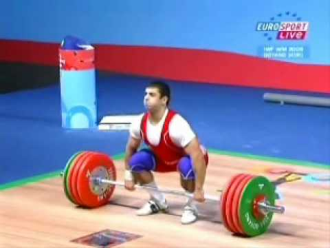 Frank Rothwell's Olympic Weightlifting History 2009 World Weightlifting 77Kg Clean and Jerk.wmv Image 1