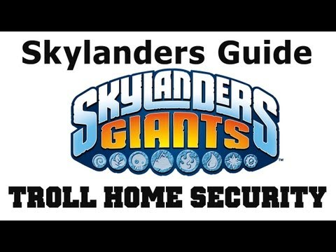 COTV - Skylanders Giants Troll Home Security Find All Collectibles - Chapter 8