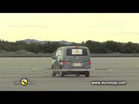 Euro NCAP | Nissan Evalia | 2013 | ESC Краш-тест