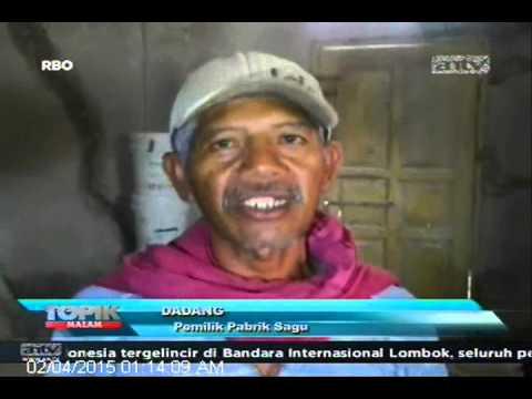[ANTV] TOPIK PILIHAN, Polisi Grebek Pabrik Sagu Diolah Dengan Kaporit