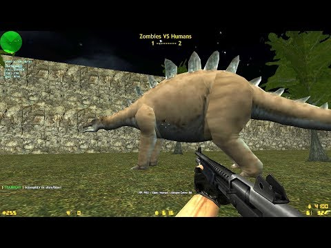 Counter-Strike: Zombie Escape Mod - ze_Jurassickpark3_lg on Brotherhood