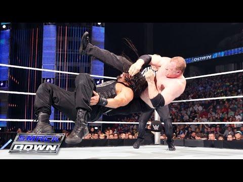Roman Reigns vs. Kane: SmackDown, April 30, 2015