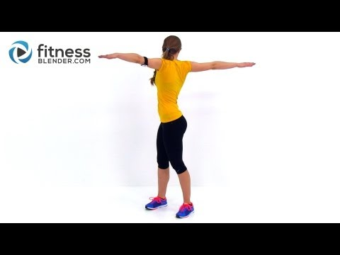 Total Body Toning Low Impact Cardio Workout - 30 Minute At Home Cardio Workout video