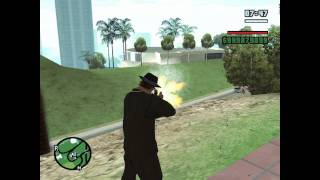 GTA SA - Weapon Mod - SteyrAug A1 Silenced Winter Camo By Mad Driver