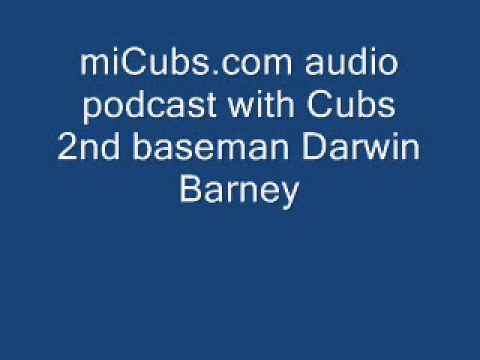 Chicago Cubs 2nd baseman Darwin Barney - miCubs.com audio podcast