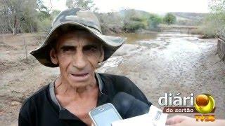 Chuva transborda açudes e causa estragos em sítio de Cajazeiras
