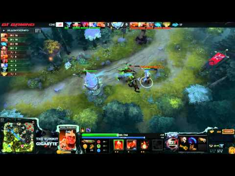 CDEC  vs  EP The Summit 3 China  game 2