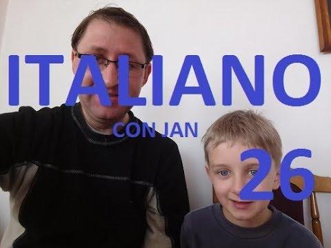 26. JĘZYK WŁOSKI Z JASIEM Język Włoski Dla Dzieci/ Rodziców Dla Całej Rodziny -LEZIONE PER I BAMBINI