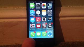 Enable Blur And Parallax On The iPhone 4 - iOS 7