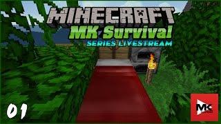 Minecraft MK Survival #1 : Bắt đầu ở 1 thế giới mới [Ngày 1 / 365]