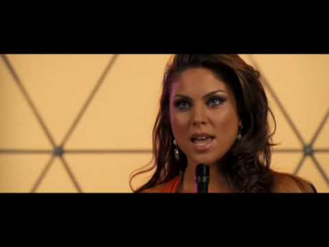 Nadia Bjorlin sings as Natasha Martin in Redline Video