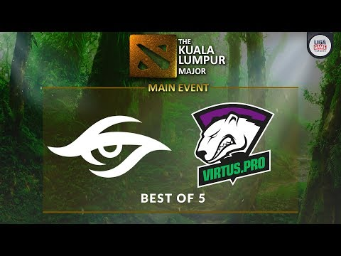 [DOTA 2] Team Secret VS Virtus Pro (BO5) - The KL Major GRAND FINAL