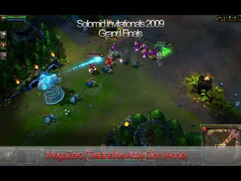 Solomid.net Invitationals Grand Finals (Round 3): Andy Dinh (Annie) VS MegaZero (Tristana)