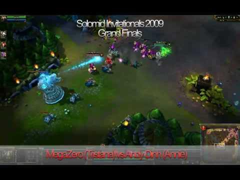 Solomid.net Invitationals Grand Finals (Round 3): Andy Dinh (Annie) VS MegaZero (Tristana)