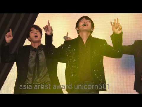 AAA bts V  taehyung focus fire 20161116