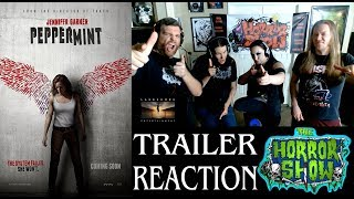 """Peppermint"" 2018 Action Thriller Movie Trailer Reaction - The Horror Show"
