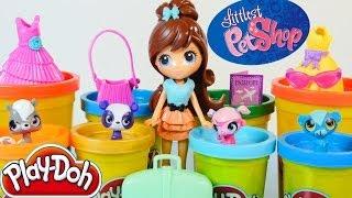 Play Doh Liest Pet Shop Travel Trendy Blythe & Pets Toys Play Dough World Hasbro
