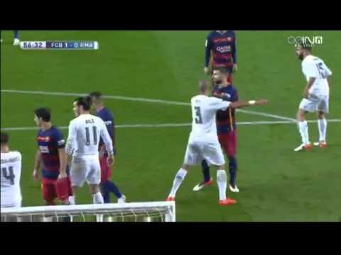 Pique goal vs Real Madrid     02.04.2016