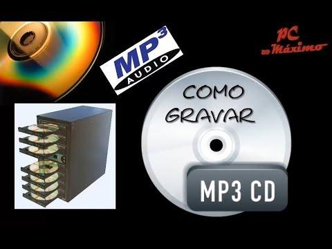 Gravar CD de Música com Windows Média Player