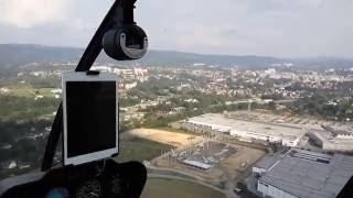 let vrtulníkem na leteckém dni 10.9.2016