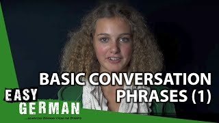 Easy German - Basic Conversation Phrases 1