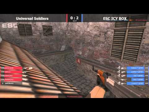EPS #4 Zabrze ESC ICY BOX vs Universal Soldiers