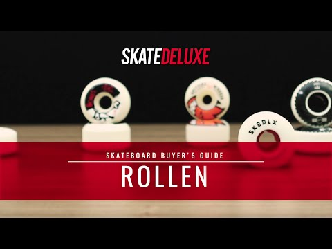 Skateboard Rollen | skatedeluxe Buyer's Guide [Deutsch/German]