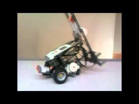 Demostración De Robot Construido Con Mindstorms NXT
