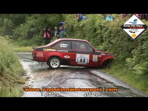 Donegal International Rally 2013 action + mishaps (Flyin Finn Motorsport.com)