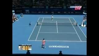 Jelena Jankovic vs Serena Williams Australian Open 2008 QF Highlights