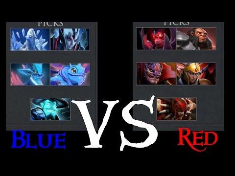 Dota 2 | Синие герои против красных! |