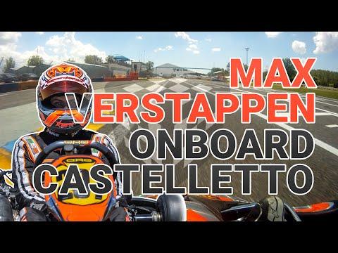 Onboard Max Verstappen at the Rotax EuroChallenge in Castelleto