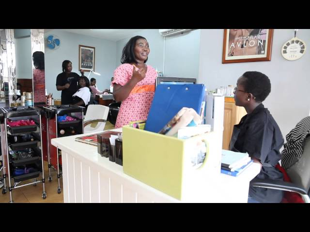 Is this makeup or face painting. Kansiime Anne. African comedy