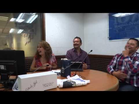 Santiago Arroyo & Karina Hernandez Entrevista Laberinto de los Famosos