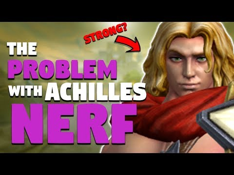 SMITE: The Problem With Achilles' Nerf (Patch 5.4)