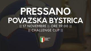Challenge Cup [R3]: Pressano - Povazska Bystrica 24-28