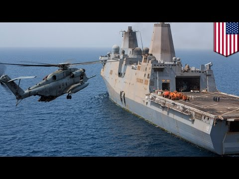 US military helicopter crash: CH-53E Super Stallion falls into Gulf of ...
