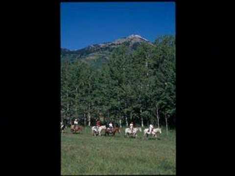 Summer in Jackson Hole Wyoming