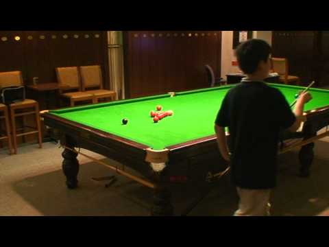 Dong Dong's snooker training video-1, 2011'