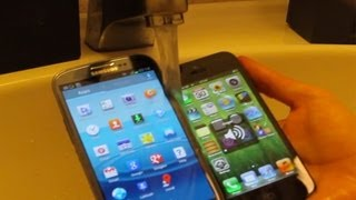 Samsung Galaxy S3 vs. Apple iPhone 5 - Water Test
